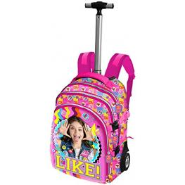 Soy Luna Trolley Mochila Travel Pq Smile 93583