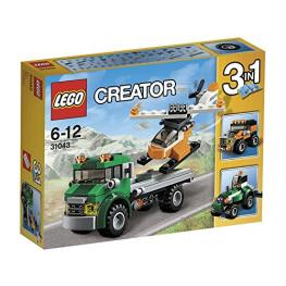 Lego Transporte de Helicoptero Ref 31043