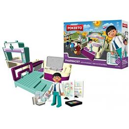 Pokeeto Pharmacist With Pharmacy And Accessories Ref 32120
