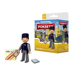 Pokeeto Postman And Accesories Ref 30018