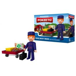 Pokeeto Railway Man And Accessories Ref 31017