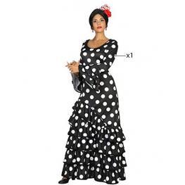 Disfraz de Flamenca Negro Talla Xs/s Ref 16890