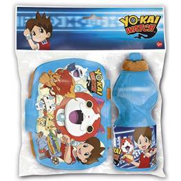 Yo-Kai Watch Set Botella+ Sanwichera Ref 87276