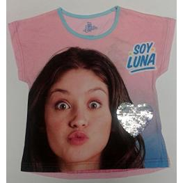 Soy Luna Camiseta  M/corta Cotton Pink T.10 Años Ref 220000146