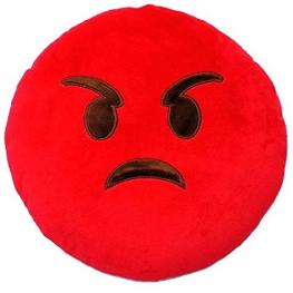 Emoticonworld Cojin Angry Red 32 Cm Ref Ex-3220