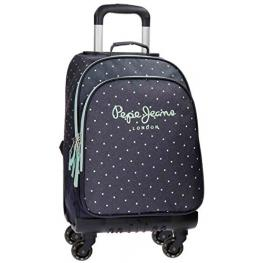 Pepe Jeans Trolley Mochila 4R Denim Dots Ref 6592851