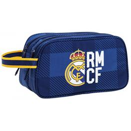 Real Madrid Neceser Dos Cremalleras Ref 811724518