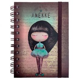 Anekke Notebook Spiral 14*21
