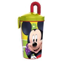 Mickey Vaso Con Pajita