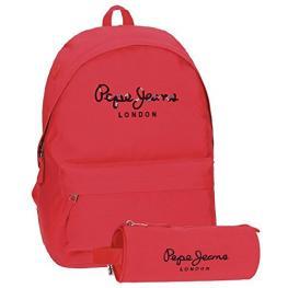 Pepe Jeans Mochila Adp 42Cm + Portatodo Harlow Ref 66823A2
