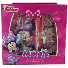 Minnie Diario En Caja Ref 2918