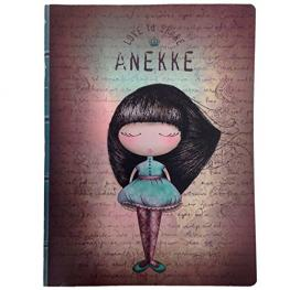 Anekke Notebook Staple Bound
