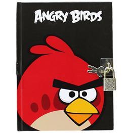 Angry Birds Diario Con Candado