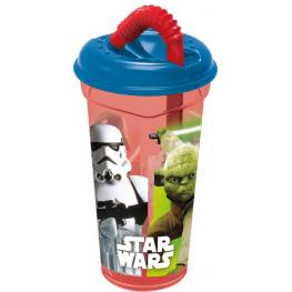 Star Wars Vaso Caña Transparente 380Ml Ref 56731