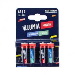 4 Pilas Alcalinas Aa Ultra Lr06