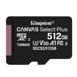 512Gb Msd Csplus 100R A1 C10 Single