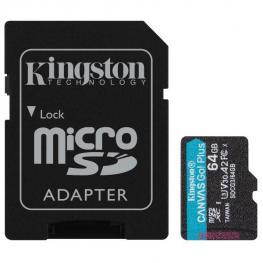 64Gb Microsd Canvas Go Plus + Ad