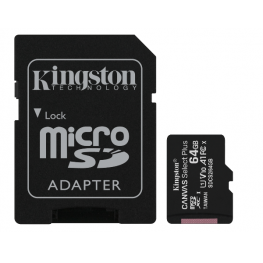 64Gb Msd Csplus 100R A1 C10 + Adp