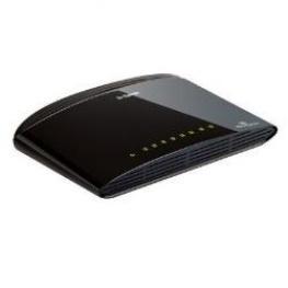 8-Port 10/100Mbps Unmanaged Switch N-Way Utp Ports, Palm Size