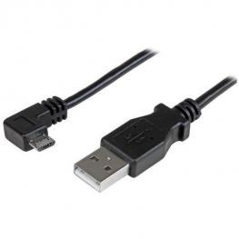 Cable 0.5M Micro Usb Acodado