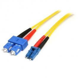 Cable 10M Fibra Monomodo Lc Sc