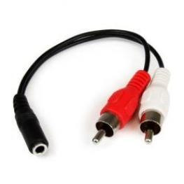 Cable 15Cm Minijack H A Rca M