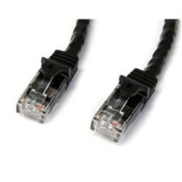 Cable 1M Cat6 Snagless Negro