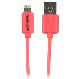 Cable 1M Lightning A Usb  Rosa