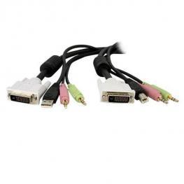 Cable 3M de Switch Kvm Dvi Usb