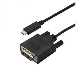 Cable 3M Usb-C Dvi Negro