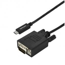 Cable 3M Usb-C Vga Negro