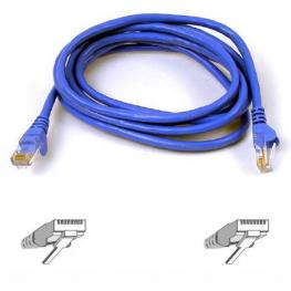 Cable Cat6 Utp Rj45M/m 1M Blu