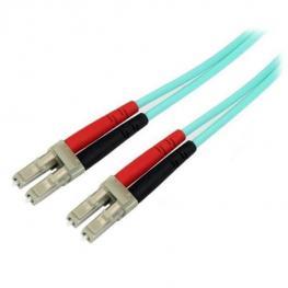 Cable Fibra Lc Duplex 10M Aqua