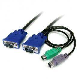 Cable Kvm de 1 8M Ultra Delgado Tod