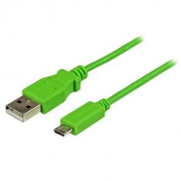 Cable Microusb B A Usb A Verde