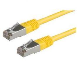 Cable Red 0.5M Utp 5E Bulk Amarillo