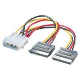 Cable Sata  Alim2X15Pinf/5.25 4Pinm