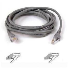 Cable Snagless Rj45M/m C5 3M Gris B