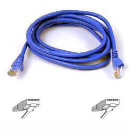 Cable Snagless Rj45Mm C6 2M Azul Bk