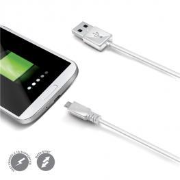 Cable Usb-Micro Usb Blanco