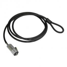 Candado Portatil-4 Dig-Con Cable