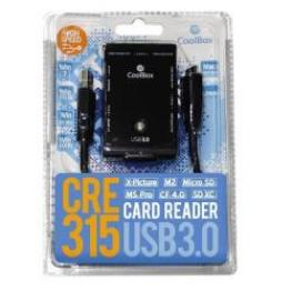 Card Reader Externo  Cre-315 Usb3.0