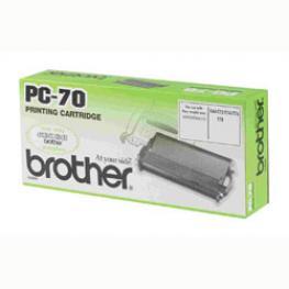 Cartucho y Bobina Pc70 Brother