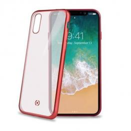 Cover Laser Matt Iphone X/xs Rojo