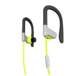 Earphones Sport 1 Yellow Mic