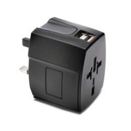 Intnl Travel Adapter Usb 2.4A