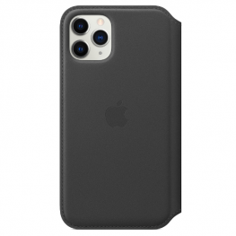 Iphone 11 Pro Leather Black