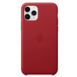 Iphone 11 Pro Leather Red