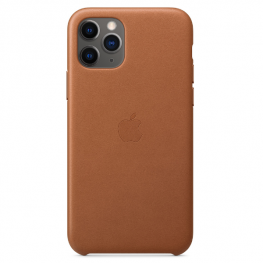 Iphone 11 Pro Leather Saddle Brown