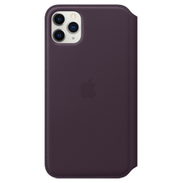 Iphone 11 Pro Max Leather Aubergine